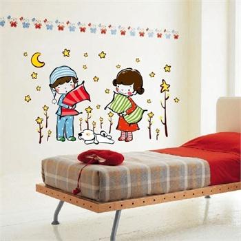 diy可移除墙贴教室布置客厅卧室儿童房可爱卡通装饰墙贴纸墙壁贴墙画