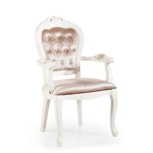 欧式复古餐椅休闲椅实木椅子现