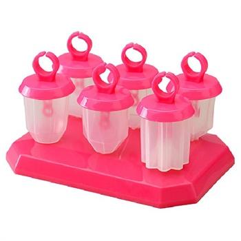可爱造型雪糕继红 冰棒模制冰盒 创意自制布丁果冻冰棍模 冰格雪糕图片