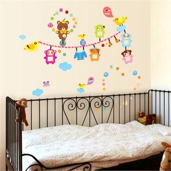 教室布置卧室儿童房可爱卡通