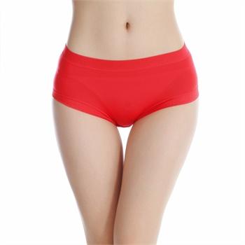 蕾丝小平角性感内裤女低腰纯色可爱莫代尔棉女士三角内裤基础款 648
