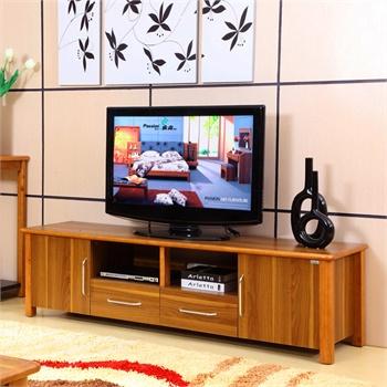 派森家具 简约现代客厅电视柜 地柜 储物柜 泰国进口实木框架电视柜ps