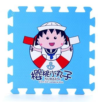 明德海军樱桃小丸子儿童泡沫地垫 宝宝爬行垫拼图 环保无味