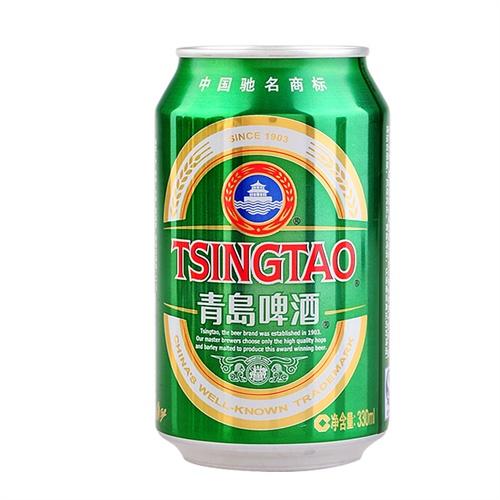 中酒网 青岛啤酒 青岛经典啤酒 330ml*24听 整箱装 经典啤酒