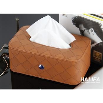 座式汽车纸巾盒 宝马车用纸巾盒 高档车载抽纸盒 车用纸巾盒套