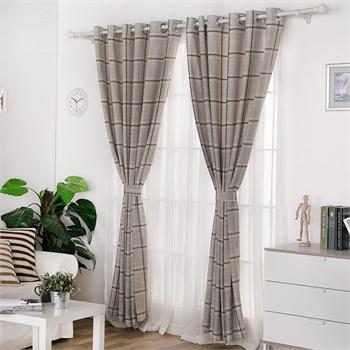 窗帘对花打孔怎么算
