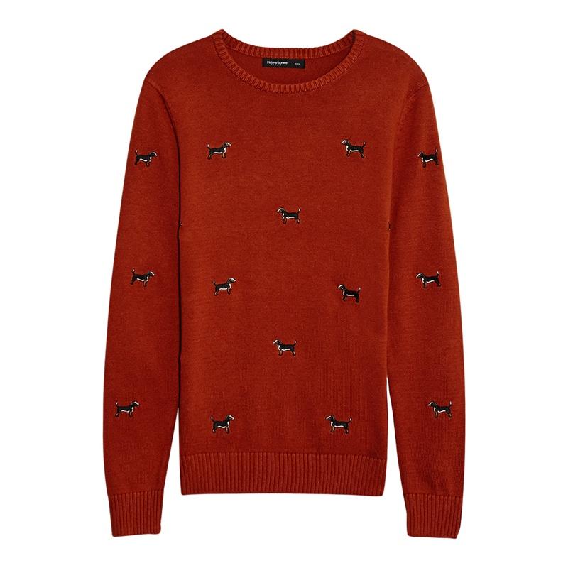 【美特斯邦威针织衫/毛衣】美特斯邦威 男全身小动物