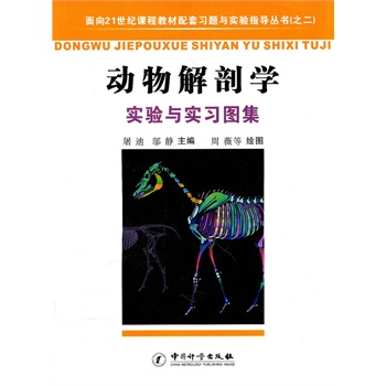 书; 动物解剖学实验与实习图集/面向21世纪课程板材配套习题与实验