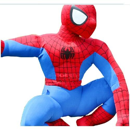 蜘蛛侠公仔 毛绒玩具可爱创意玩偶 蹲姿大小号蜘蛛侠