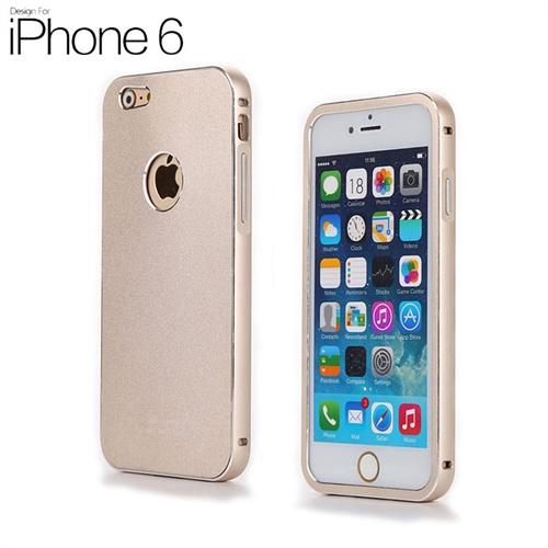 苹果iphone6保护套丝袜配件防摔金属壳薄外壳金属边框logo镂空连休后盖图片