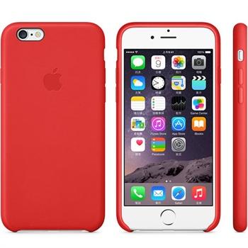 苹果手机套_苹果原装iphone6 plus 原装真皮套/皮革保护壳 iphone6手机壳 iph.