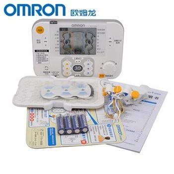 欧姆龙低频治疗器治疗仪理疗仪hv-f1200家用颈椎肌肉酸痛按摩电疗