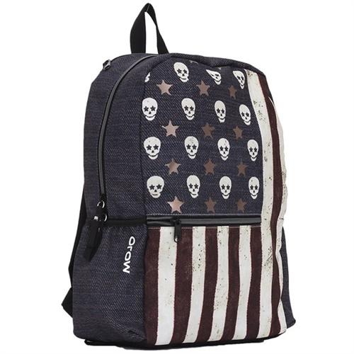 恶搞美国国旗创意双肩包