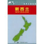新西兰地图(世界分国地图)