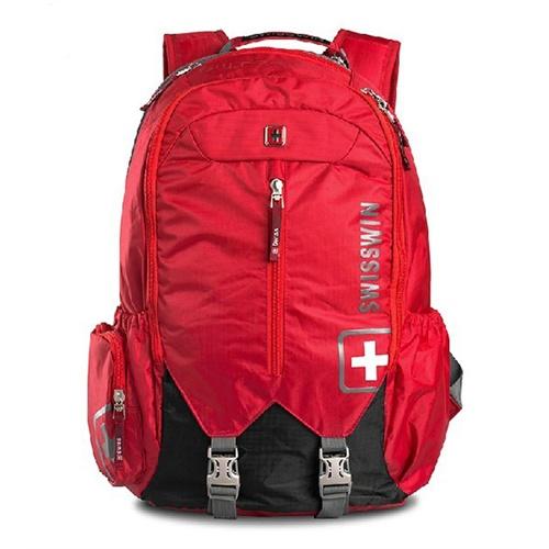 swisswin瑞士军刀电脑双肩包背包登山包旅行包户外潮男女生sw9176图片