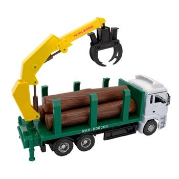 1:32大型自装卸木材运输卡车