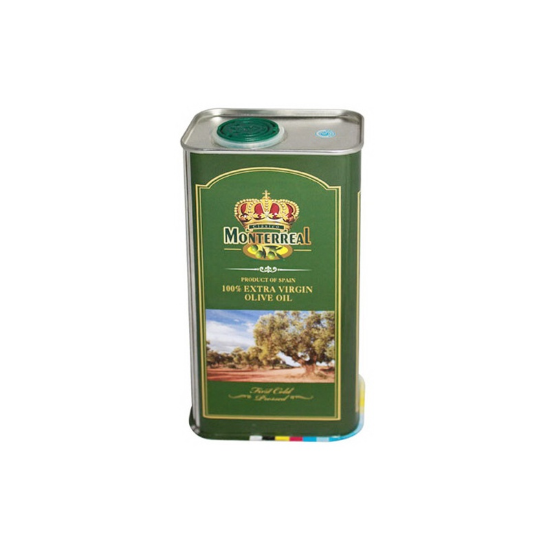 特级初榨橄榄油铁桶500ml