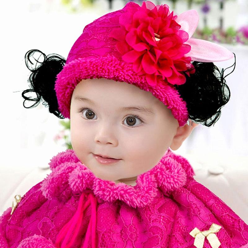 韩国秋冬季小兔子花边女童儿童宝宝帽子珊瑚