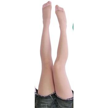 修腿蕾丝花边长筒袜高筒丝袜