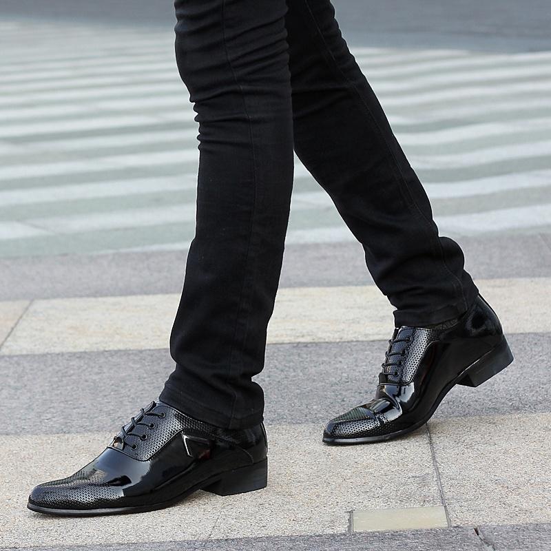 士英伦皮鞋男鞋男鞋尖头内图片