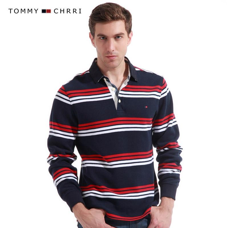 条纹t恤 男 长袖 条纹t恤 长袖 条纹 简尚男士潮流生活馆