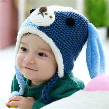 宝宝针织帽子图解