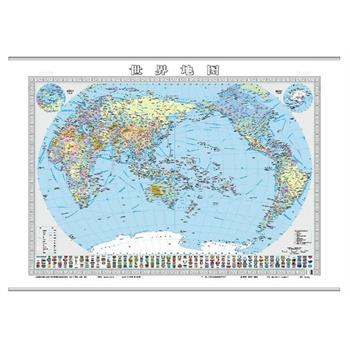 世界地图(双全开精装挂图)