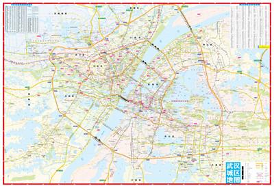 武汉市公交地图最新版 武汉市地图最新版