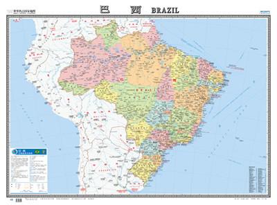 世界热点国家地图