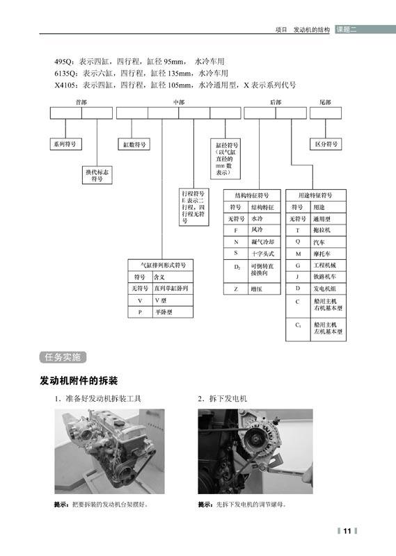 汽车发动机构造与维修 张伟荣 9787115328212 人民邮电出版社