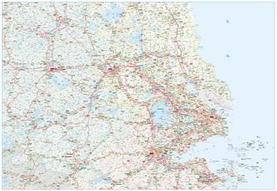 2014长三角高速公路地图