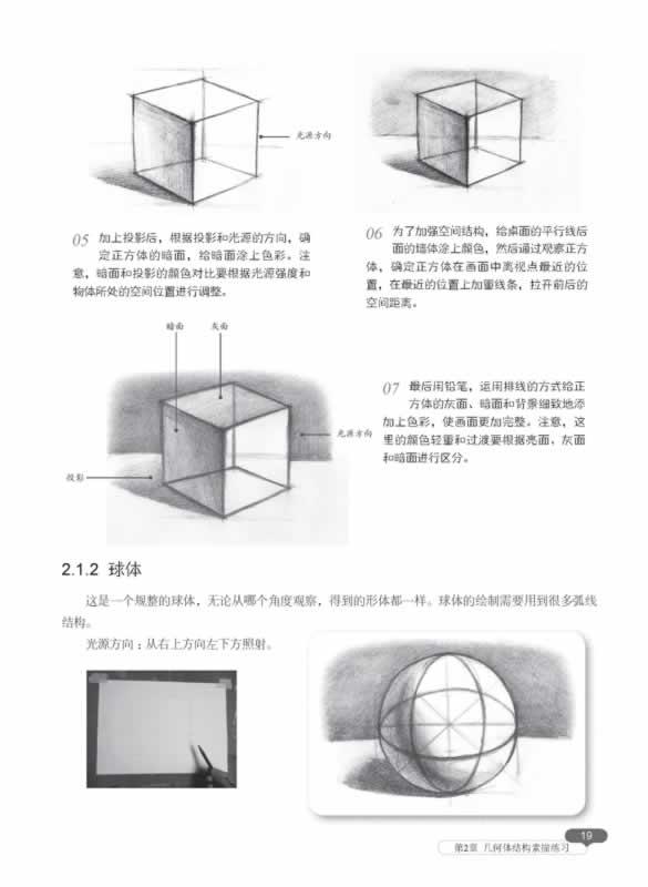 结构素描实例教程