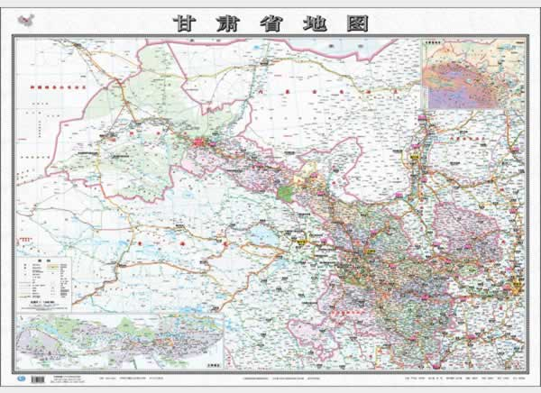 地图:甘肃省地图