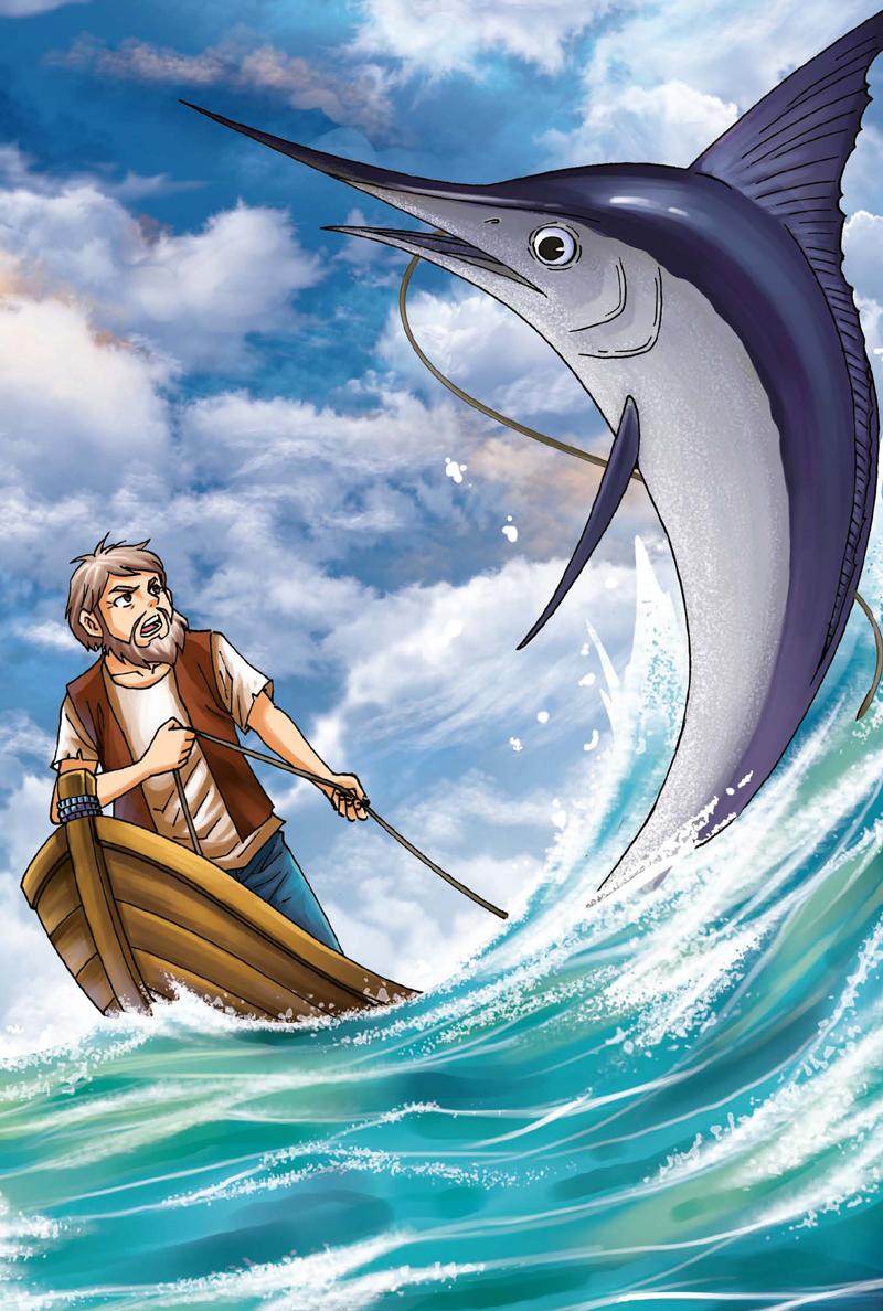 海明威的 老人与海