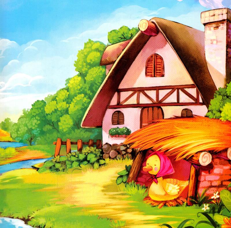 童话绘本:丑小鸭