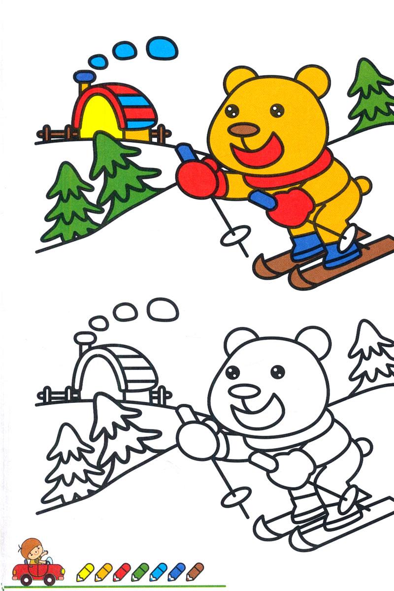 特价!宝宝涂色画5-6岁入门篇 余非鱼_图书杂志-小说-中国当代小说