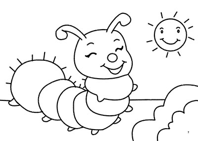 [童书 0-2岁]阶梯涂色(全六册) 图画造型可爱,线
