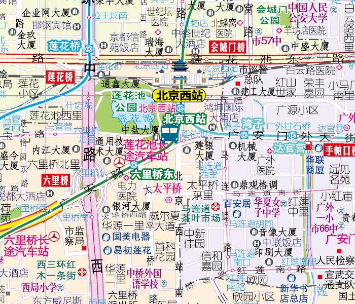 2015北京交通旅游地图