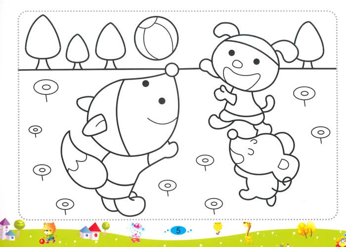 儿童彩笔画2