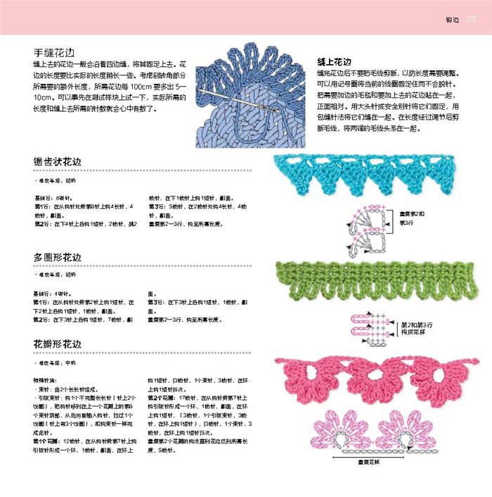 100祖母方格花样图典〔英国著名钩织设计师祖母方格钩编的花样集锦