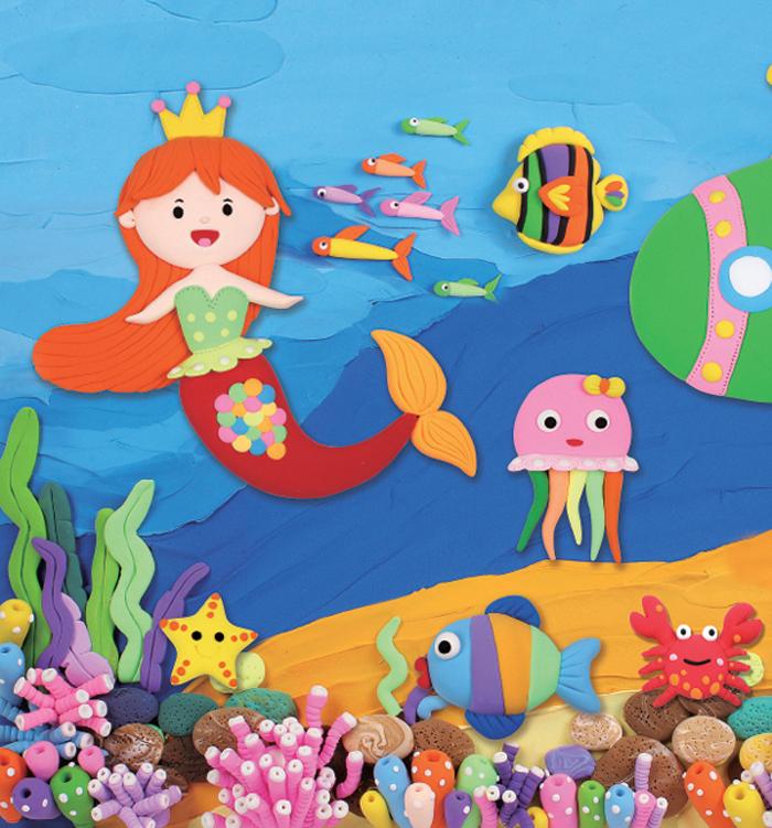 快乐手工玩转黏土 海底总动员(玩具套装)