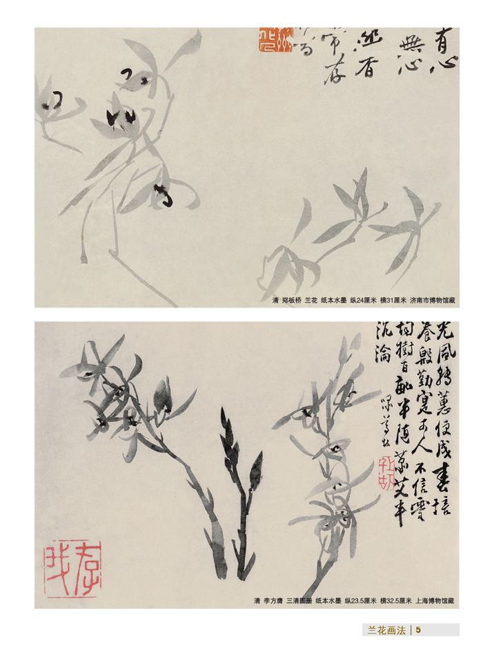 一学就会兰花画法-国画技法入门/郑宗修