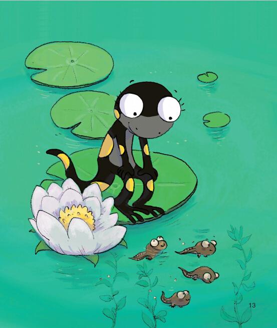 蒲公英动物绘本系列:勇敢歌唱咕咕呱