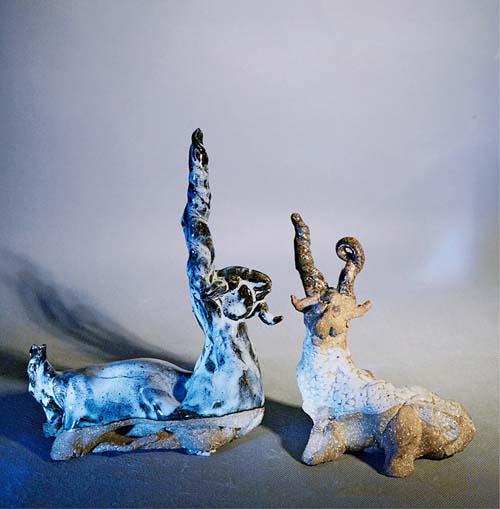 陶艺作品欣赏 吉祥系列 77  第三章 传统陶艺与现代陶艺的意境 115