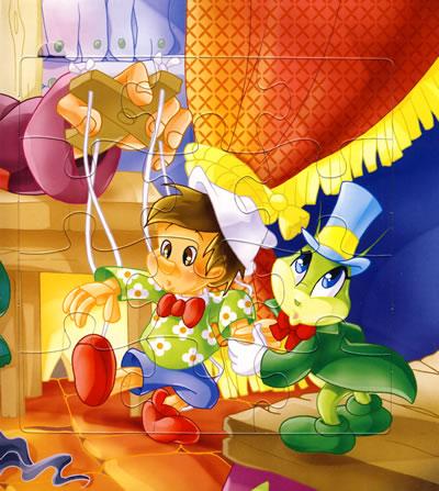 世界经典童话拼图·木偶奇遇记