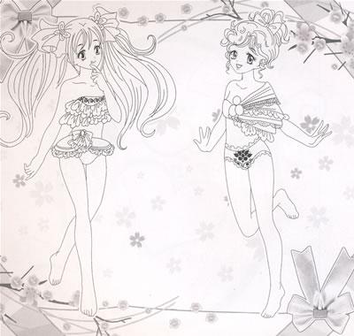 洛丽塔公主手绘图片