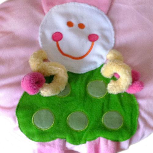 家居浴室儿童卡通动物造型马桶2件套装粉色款