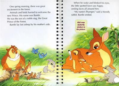 关于小鹿斑比的手抄报用英语怎么说