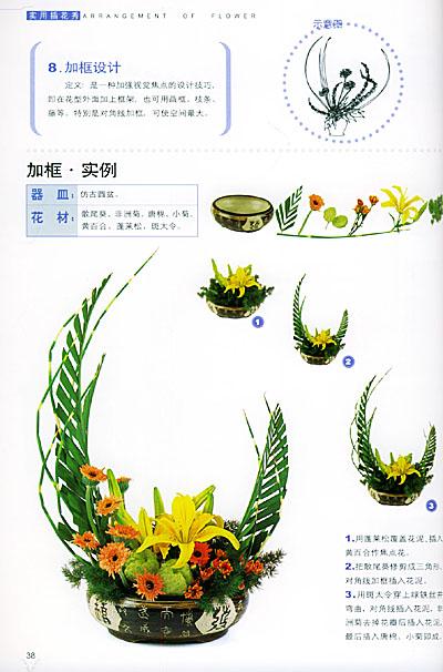 高级插花的基本教程由广州市广花插花花艺培训中心