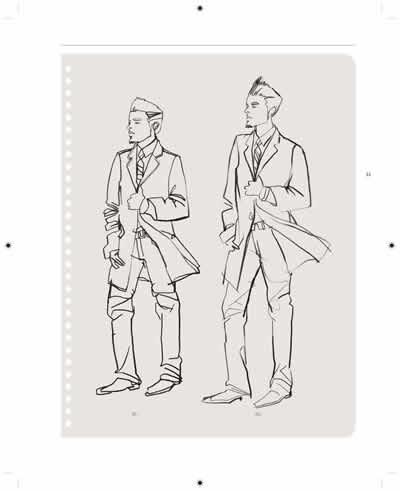 【th】美国时装设计学院手绘创意课程 (美)多诺万,姚小文 广西美术